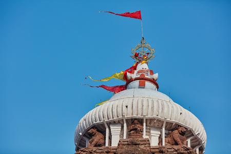 chakra: The top and the chakra of Jagannath Mandir temple