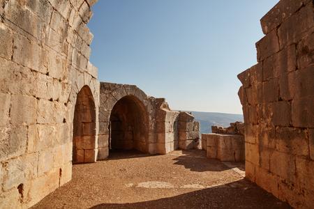 banias: Nimrod tower ruins, north Israel