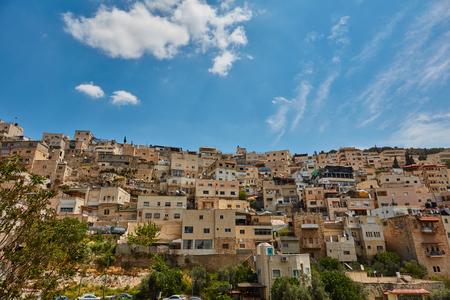 Muslim quarter at Jerusalem