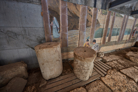 Jerusalem city of David excavations