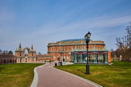 Tsaritsino national museum in Moscow, Russia