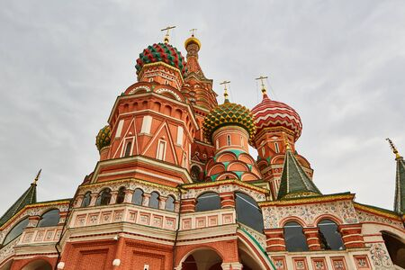 spasskaya: Moscow - 04,04,2017: The red square in Moscow