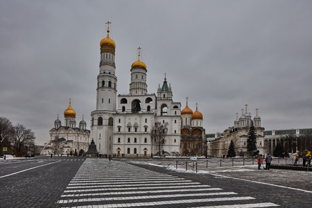Churches at the red square.