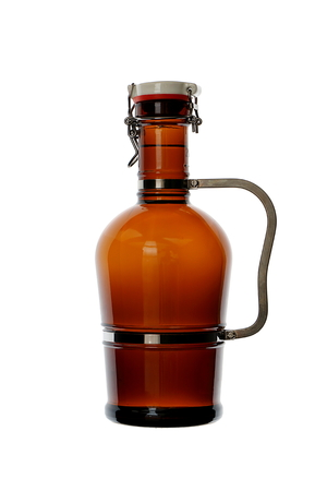 conditioned: Homebrew Beer in Swing Top Growler with Handle