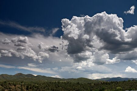 Partly Cloudy Skies over Prescott Valley, Arizona