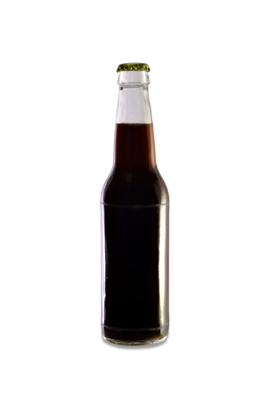 conditioned: Homebrew Beer in a Clear Bottle, Dark Colored Beer