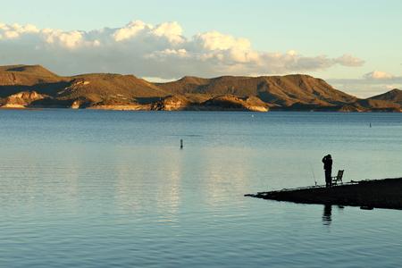 Fishing at Lake Pleasant