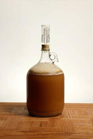 Fermenting Homebrew Beer