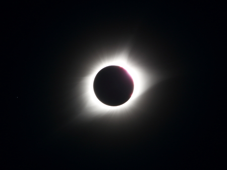Great American Eclipse Shown in Totality