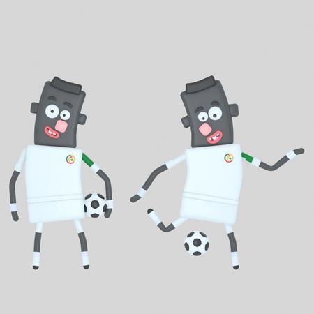 Senegal soccer player