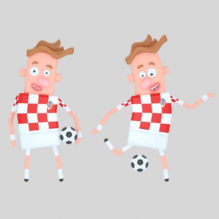 Croatia soccer player