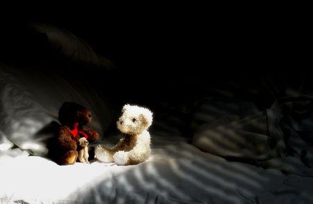 osos de peluche: Los osos de peluche Foto de archivo