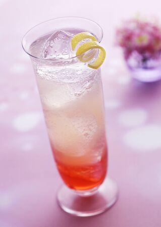 cocktail van de framboos