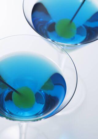Blue Martini en olijven