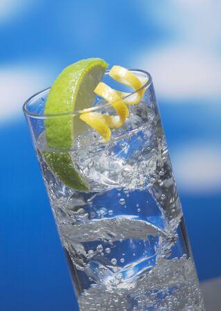 Limonade met kalk