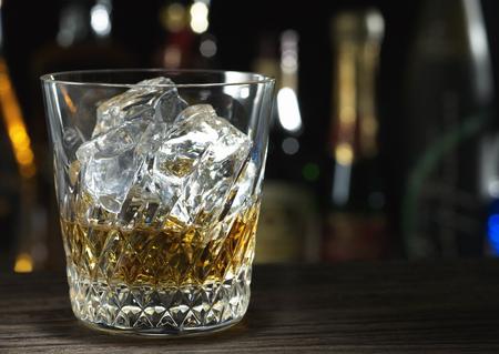 Glas wisky Stockfoto - 37035850