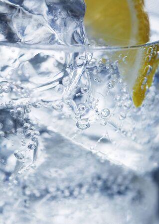 IJswater en citroen