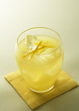 Glas limonade