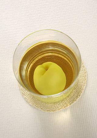 limonade glas Stockfoto
