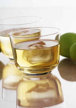 Limonade en kalk Stockfoto