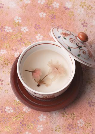 Flower tea Stockfoto