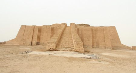 sumerian: Picture of Ziggurat of Ur   and One of the most important monuments in Iraq and that goes back to the Sumerian period Which are located in the province of Dhi Qar in southern Iraq.