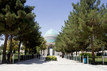 ali: It is the shrine of Khawaja Rpiea one of the owners of Imam Ali ibn Musa Alreza, its  in the form of a ribbed dome surrounded by green gardens and very beautiful trees.