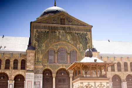 damascus: Picture of the Umayyad MosqueIt is one of the oldest mosques in Damascus. Editorial