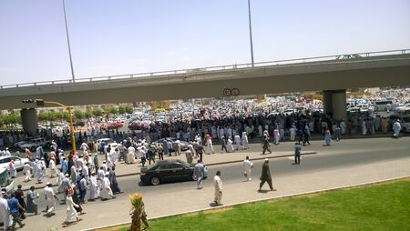 medina: Picture of market Friday in Medina which will be held after Friday prayers