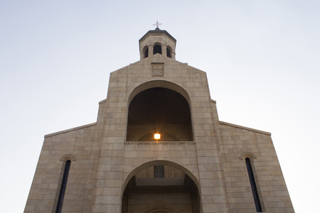 iraqi: picture of a church located in the Karrada district of the Iraqi capital Baghdad And frequented by Iraqis Of the Armenians Christian community