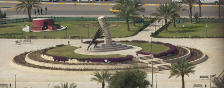 iraq: Statue save Iraq Designed By the Iraqi sculptor Mohammed Ghani Hikmat .which located in Baghdad.