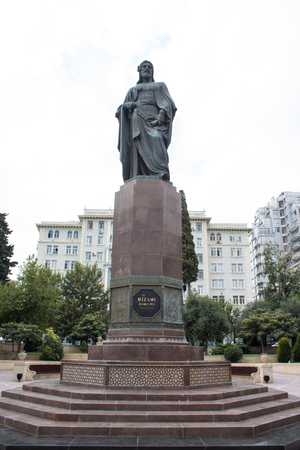 lear: statue of the poet Nazmi in Baku in Azerbaijan near the old city , was an Azerbaijani poet, a representative of the 20th-century Azerbaijani realism and successor of Mirza Alakbar Sabir. Nazmi was the first translator of Shakespeares King Lear into Azerb Editorial