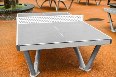 Table tennis in outdoor