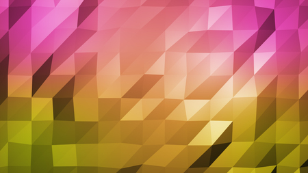 Light Multicolor polygonal illustration, which consist of triangles. Triangular pattern for your business design. Geometric background in Origami style with gradient. Stock Photo