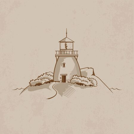 waterway: Lighthouse on the rock