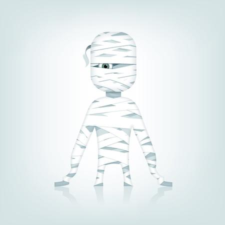 Cartoon mummy Stock Vector - 15589751