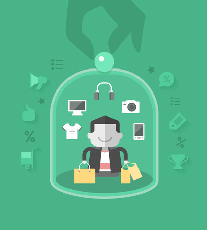 providing: Providing best-in-class services to retain customer loyalty Illustration