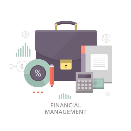 recursos financieros: La planificaci�n y el control de los recursos financieros.