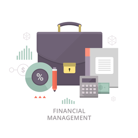 financial symbols: Planning and controlling financial resources.