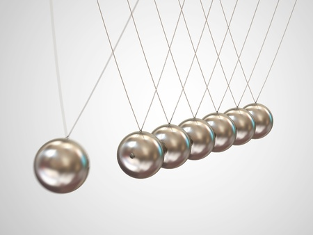 Balancing balls Newton s cradle photo
