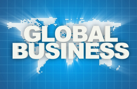 Global Business Abstract Background photo