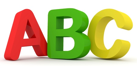 abc blocks: ABC Letters  Stock Photo