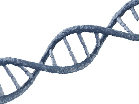 DNA isolated on white background Stock Photo - 20082018