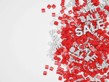 big sale: Big Sale Background with place for text Stock Photo