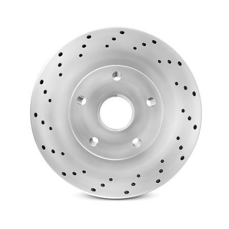Brake Disc isolated on white background Stock Photo - 20141766