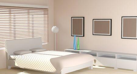 Modern interior in light tones Stock Photo - 20685667
