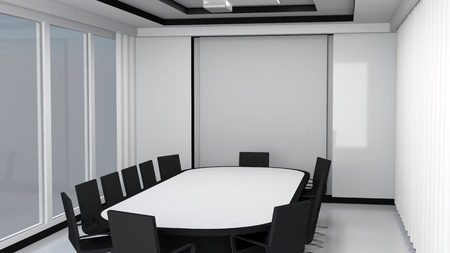 meeting place: Modern meeting room interior