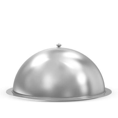 cloche: Closed Tray  Stock Photo