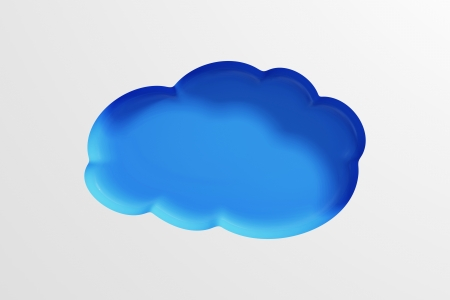 Cloud Computing Symbol Abstract Background photo