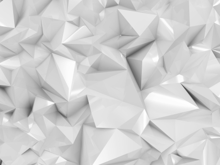 Abstract White Geometry Background photo